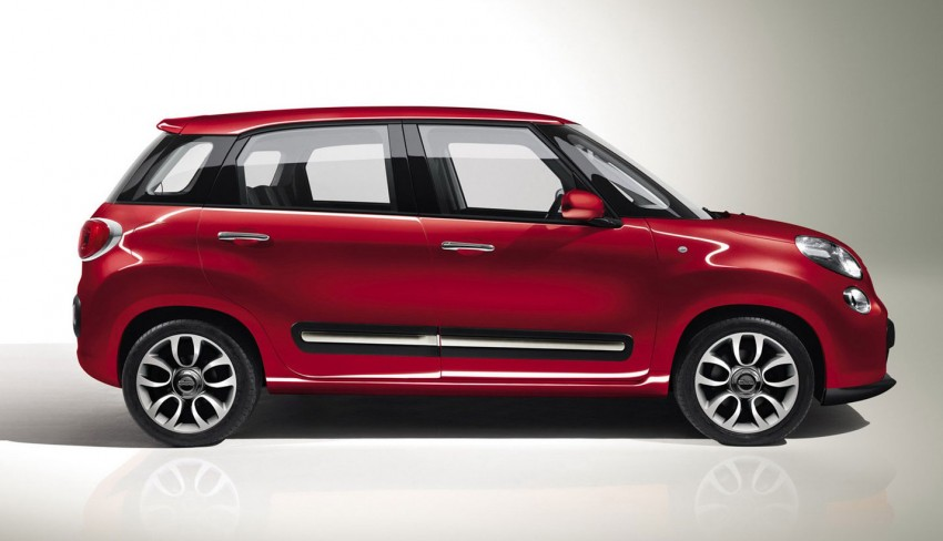 Fiat 500L – new five-door hatch powered by TwinAir engine, Lavazza coffee and Beats by Dr. Dre Image #116589