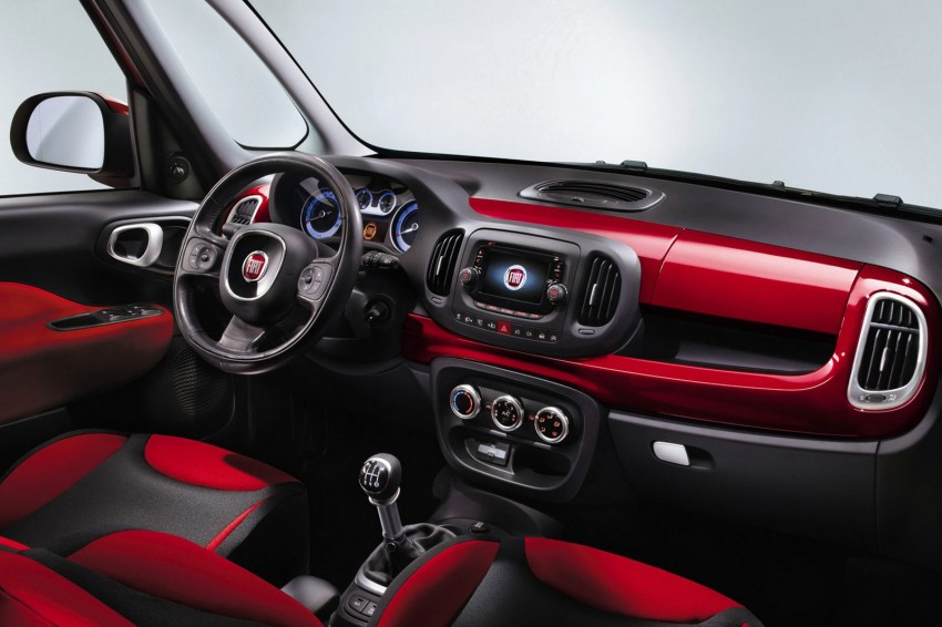 Fiat 500L – new five-door hatch powered by TwinAir engine, Lavazza coffee and Beats by Dr. Dre Image #116594