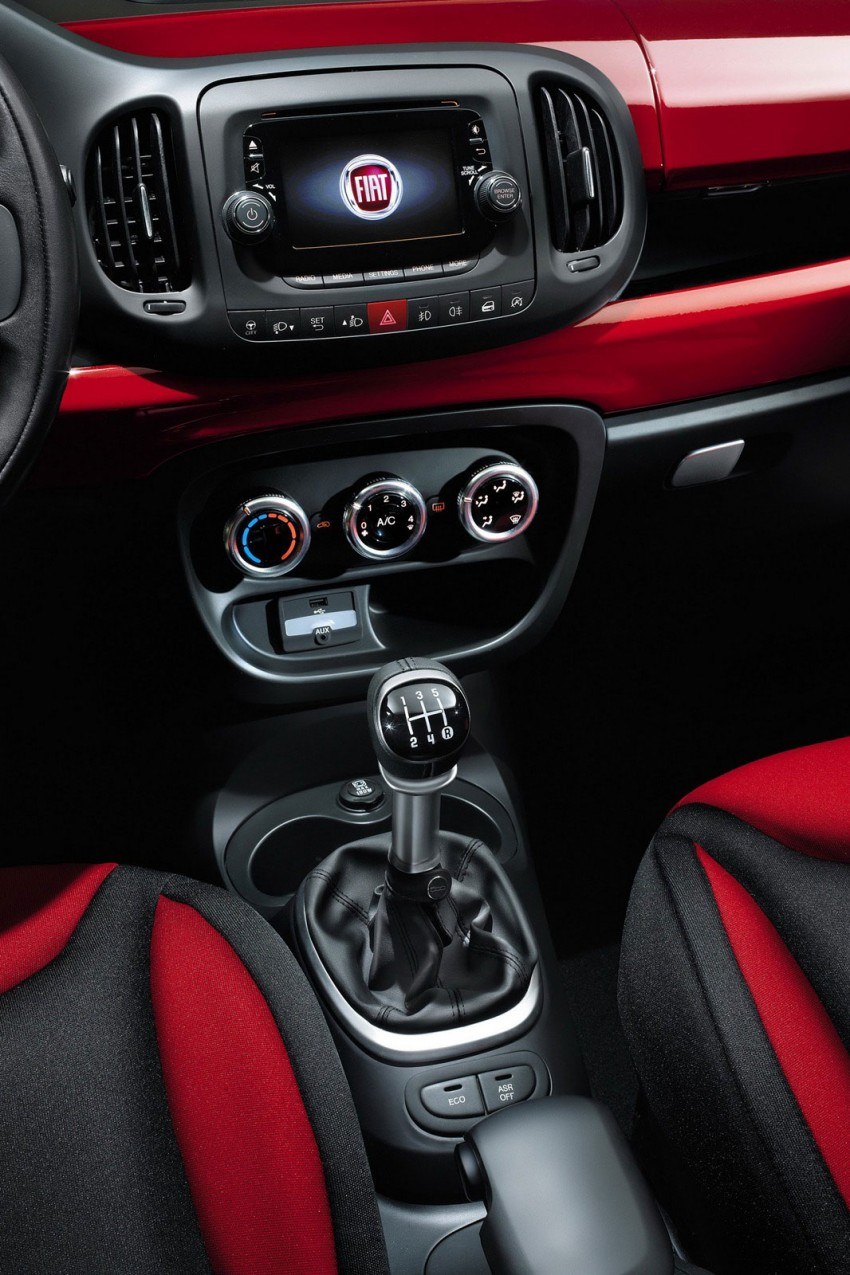 Fiat 500L – new five-door hatch powered by TwinAir engine, Lavazza coffee and Beats by Dr. Dre Image #116599