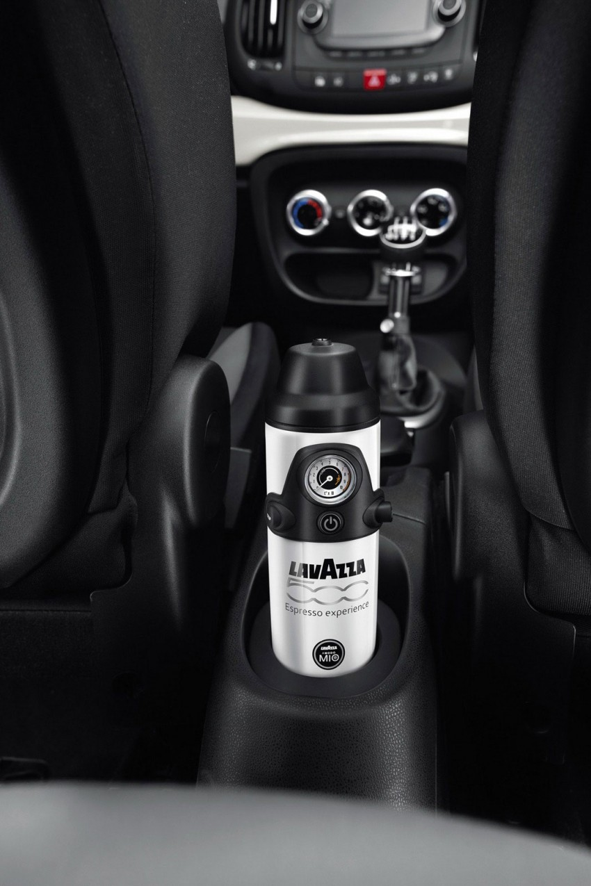 Fiat 500L – new five-door hatch powered by TwinAir engine, Lavazza coffee and Beats by Dr. Dre Image #116601