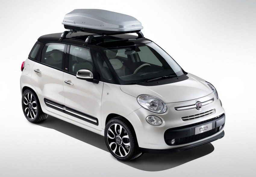 Fiat 500L – new five-door hatch powered by TwinAir engine, Lavazza coffee and Beats by Dr. Dre Image #116604