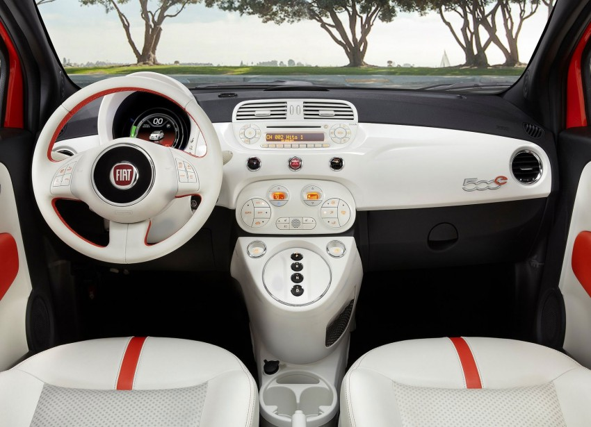 Fiat 500e – battery-powered 500 goes the EV route Image #142166