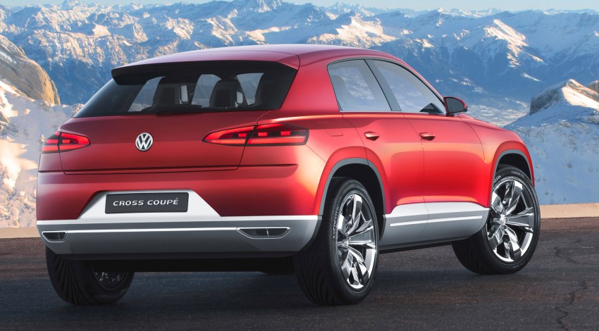 Volkswagen Cross Coupe – more info coming from Beijing Image #102705