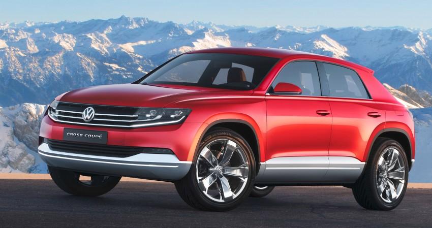 Volkswagen Cross Coupe – more info coming from Beijing Image #102706