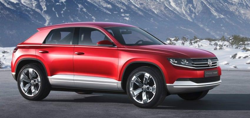 Volkswagen Cross Coupe – more info coming from Beijing Image #102708