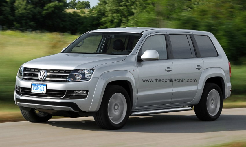 Volkswagen to debut 7-seater SUV concept at Detroit Image #149395