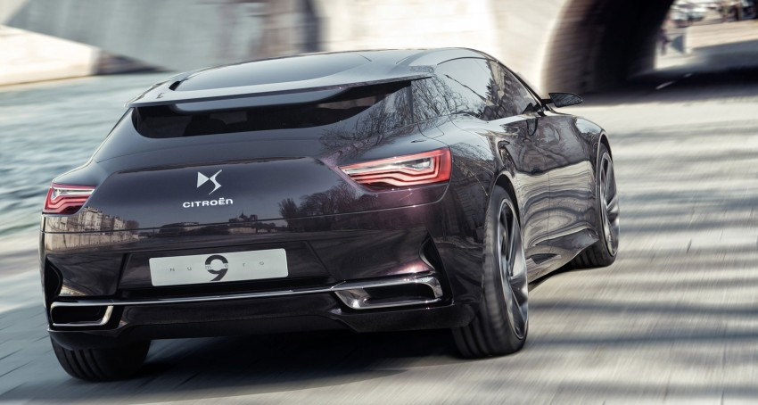 Citroën Numéro 9 concept car to be unveiled in Beijing Image #100738