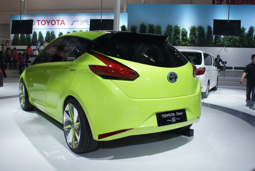 Toyota Yundong Shuangqing Hybrid and Dear Qin sedan and hatch concepts make their mark in Beijing Image #103255