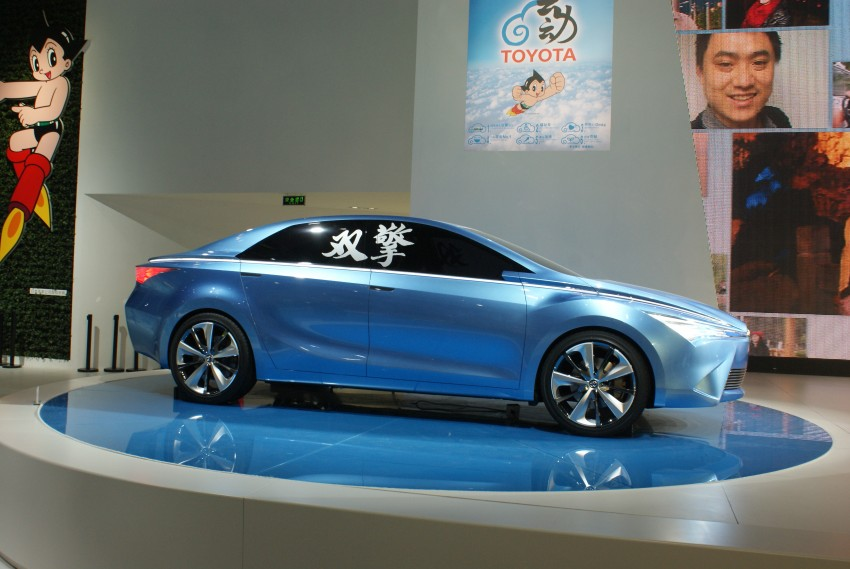 Toyota Yundong Shuangqing Hybrid and Dear Qin sedan and hatch concepts make their mark in Beijing Image #103257