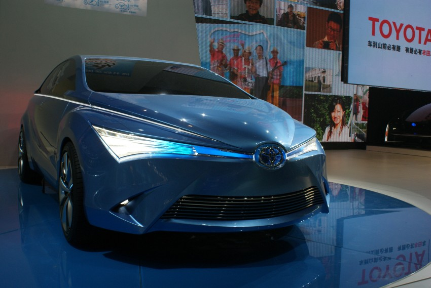 Toyota Yundong Shuangqing Hybrid and Dear Qin sedan and hatch concepts make their mark in Beijing Image #103259