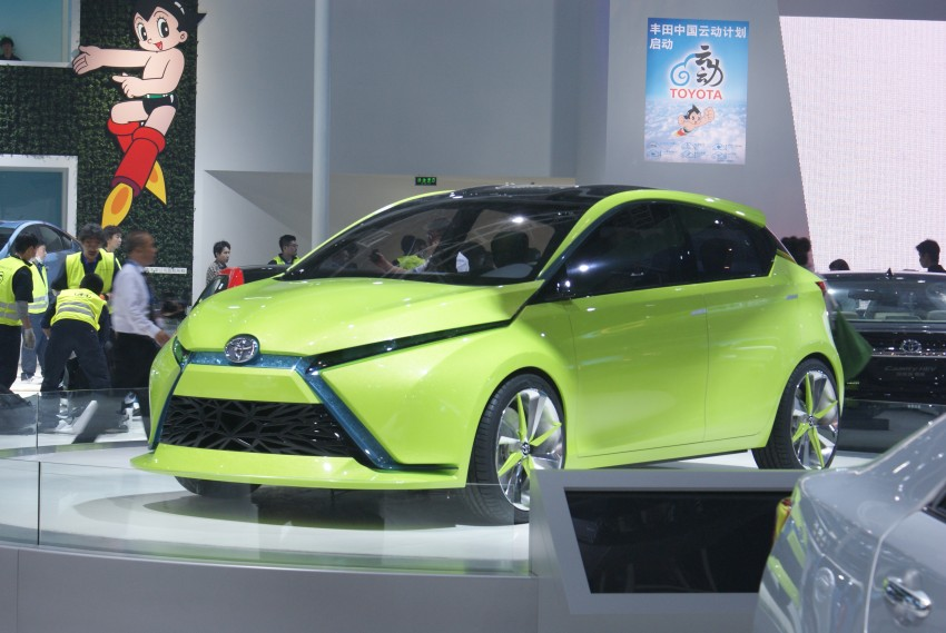 Toyota Yundong Shuangqing Hybrid and Dear Qin sedan and hatch concepts make their mark in Beijing Image #103263