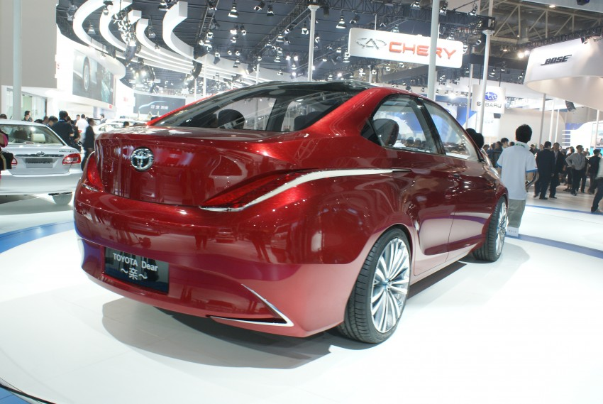 Toyota Yundong Shuangqing Hybrid and Dear Qin sedan and hatch concepts make their mark in Beijing Image #103264