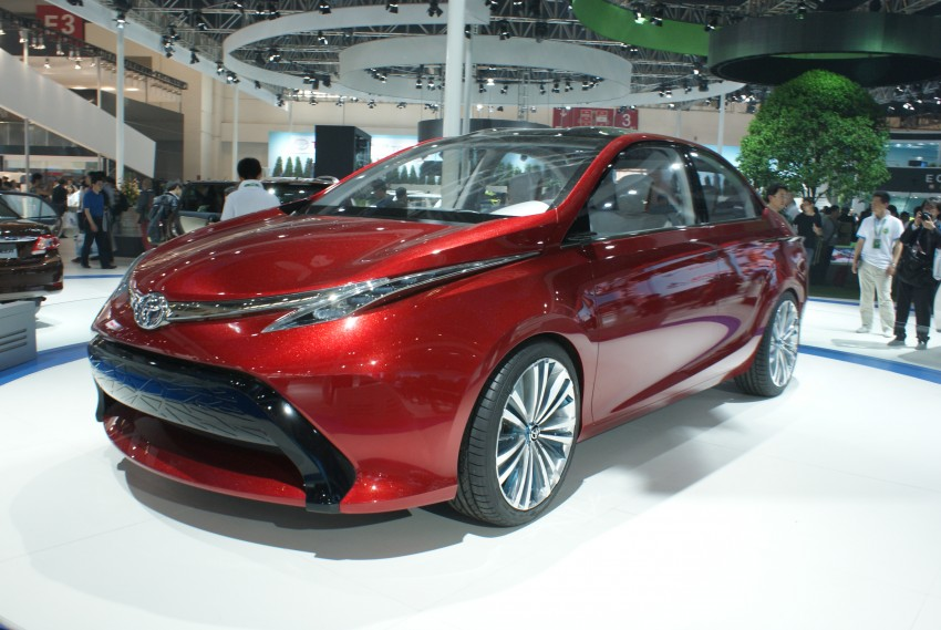 Toyota Yundong Shuangqing Hybrid and Dear Qin sedan and hatch concepts make their mark in Beijing Image #103265