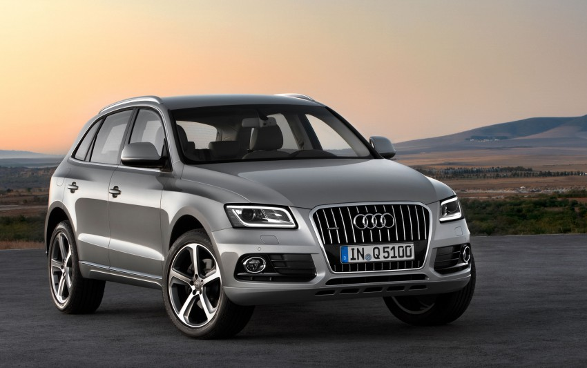 Audi Q5 gets mid-life updates, adds hybrid to the range Image #103074