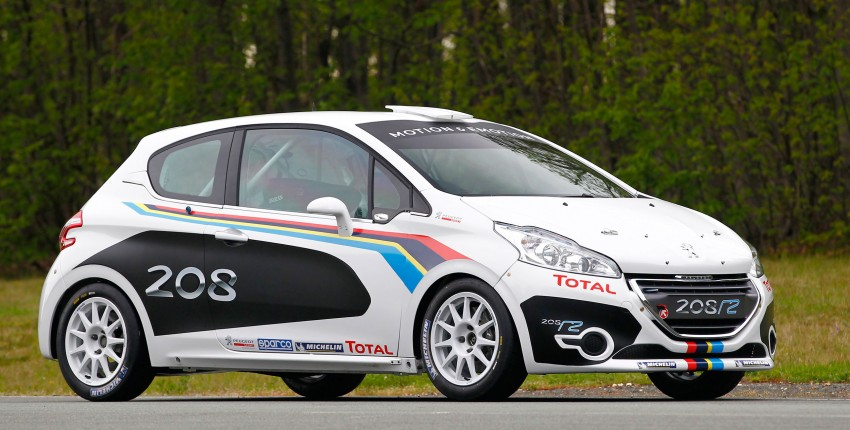 Peugeot 208 R2 Rally Car – a race-ready car you can buy Image #104933