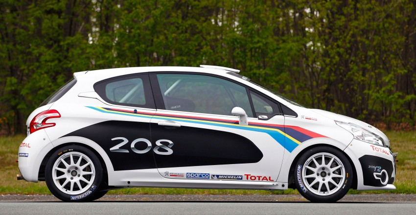 Peugeot 208 R2 Rally Car – a race-ready car you can buy Image #104934