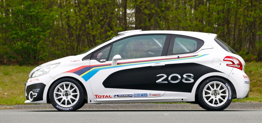 Peugeot 208 R2 Rally Car – a race-ready car you can buy Image #104940