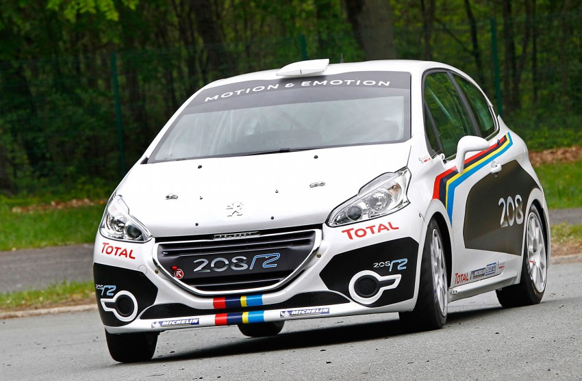 Peugeot 208 R2 Rally Car – a race-ready car you can buy Image #104943