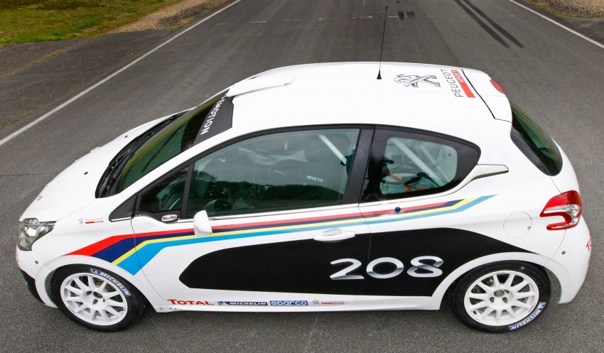 Peugeot 208 R2 Rally Car – a race-ready car you can buy Image #104957