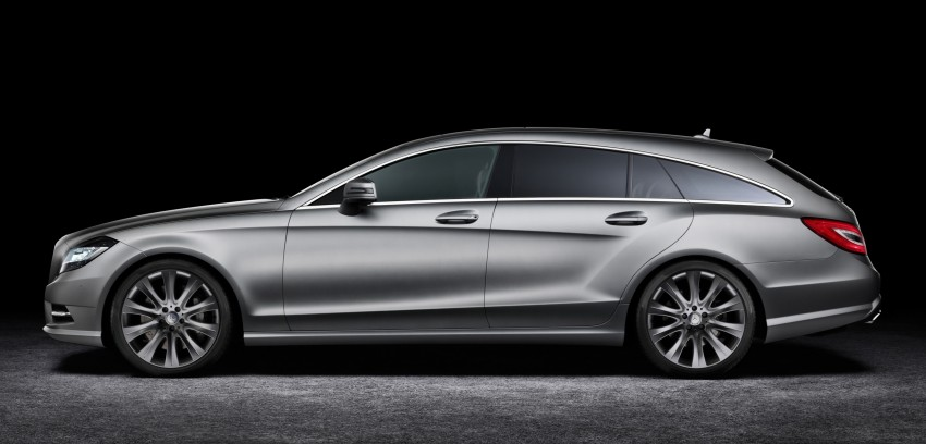 New Mercedes-Benz CLS Shooting Brake unveiled! Image #115359