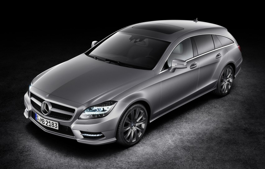 New Mercedes-Benz CLS Shooting Brake unveiled! Image #115360