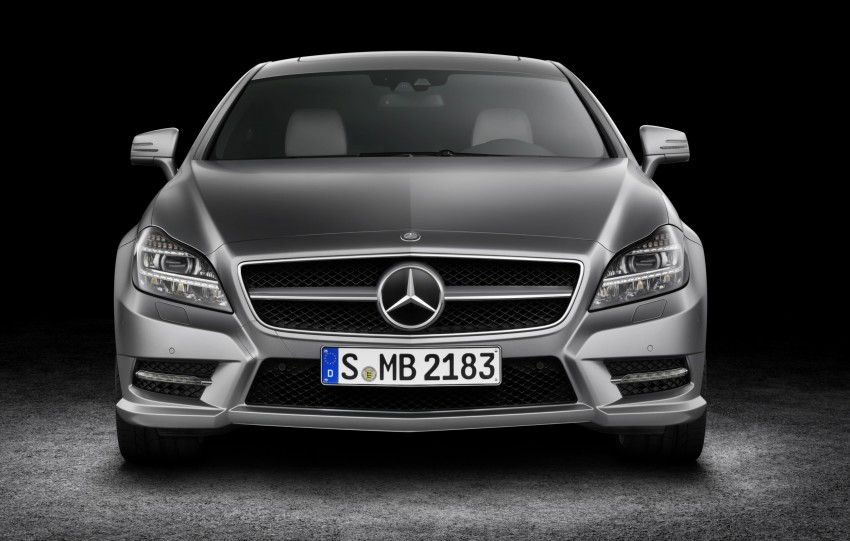 New Mercedes-Benz CLS Shooting Brake unveiled! Image #115361