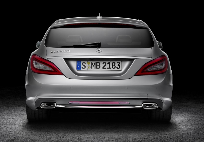 New Mercedes-Benz CLS Shooting Brake unveiled! Image #115362