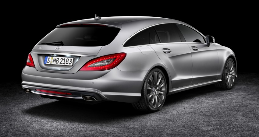 New Mercedes-Benz CLS Shooting Brake unveiled! Image #115363