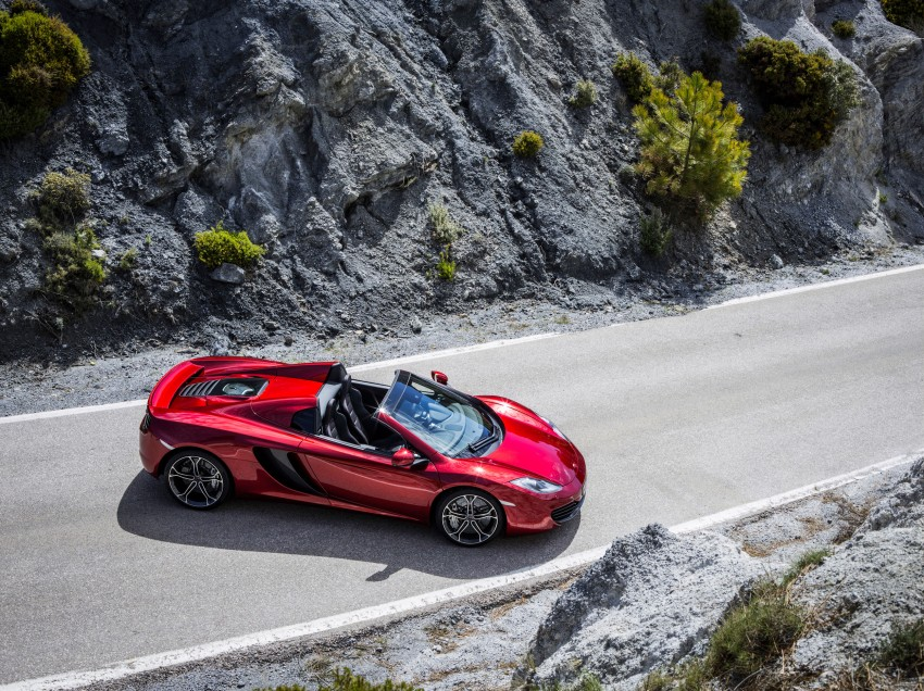 McLaren MP4-12C Spider – now with infinite headroom Image #115971