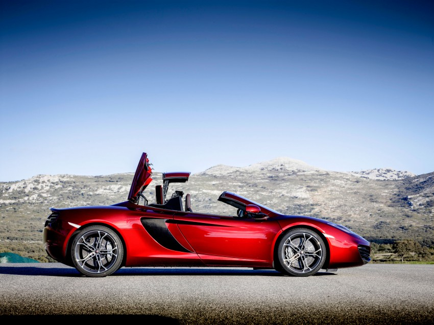 McLaren MP4-12C Spider – now with infinite headroom Image #115976