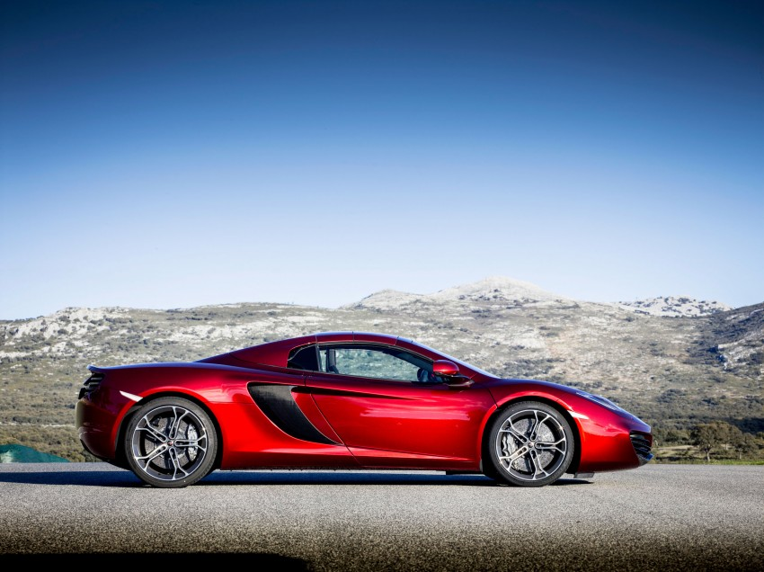 McLaren MP4-12C Spider – now with infinite headroom Image #115977