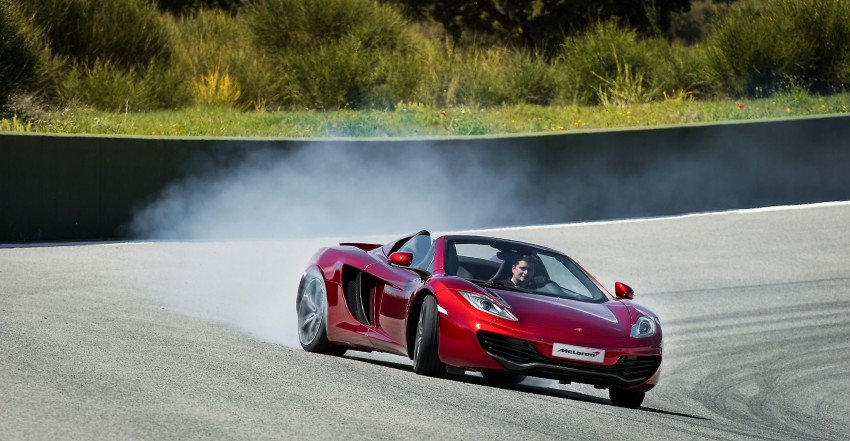 McLaren MP4-12C Spider – now with infinite headroom Image #115980