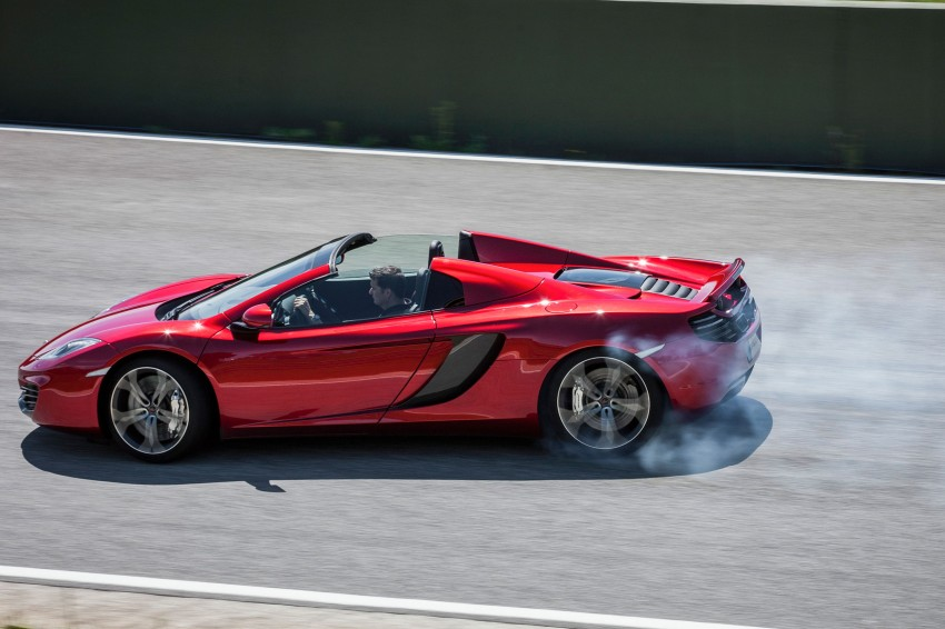 McLaren MP4-12C Spider – now with infinite headroom Image #115982