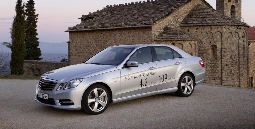 Merc E300 BlueTEC Hybrid – UK prices and specs out Image #123253