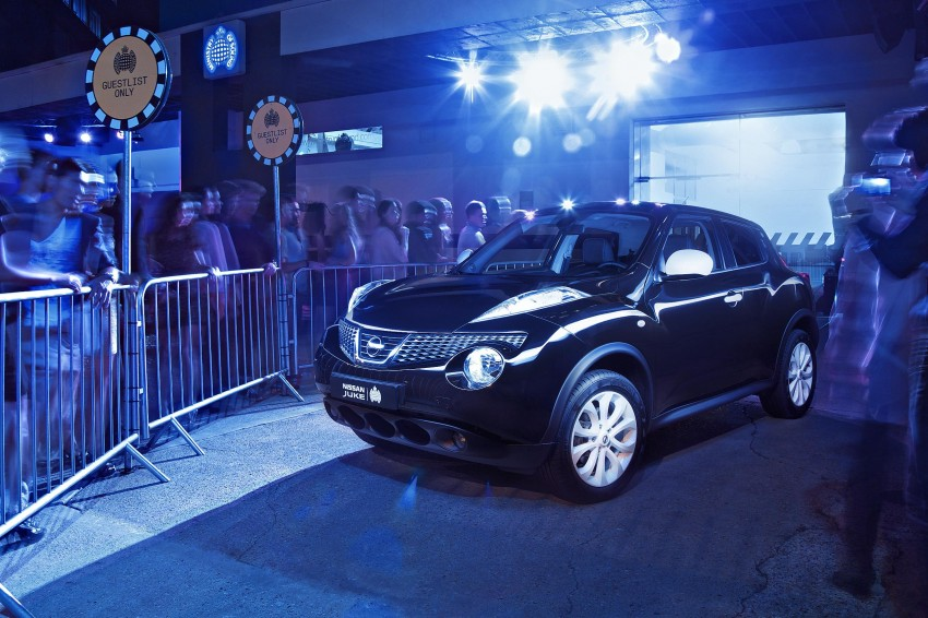 Nissan collaborates with Ministry of Sound to release special-edition Juke, limited to 250 cars in the UK Image #126419