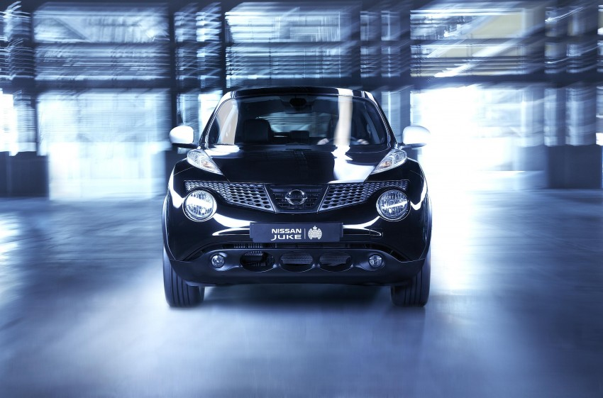 Nissan collaborates with Ministry of Sound to release special-edition Juke, limited to 250 cars in the UK Image #126424