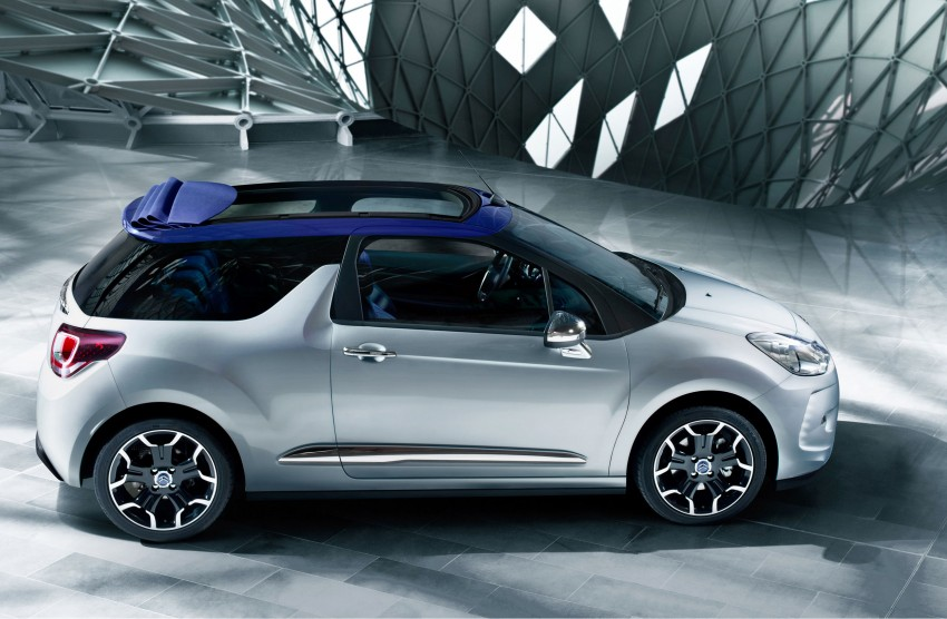 Citroën DS3 Cabrio – first pictures and details revealed ahead of Paris Motor Show 2012 Image #128221