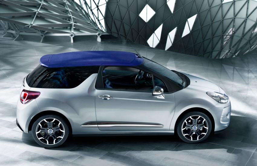 Citroën DS3 Cabrio – first pictures and details revealed ahead of Paris Motor Show 2012 Image #128222