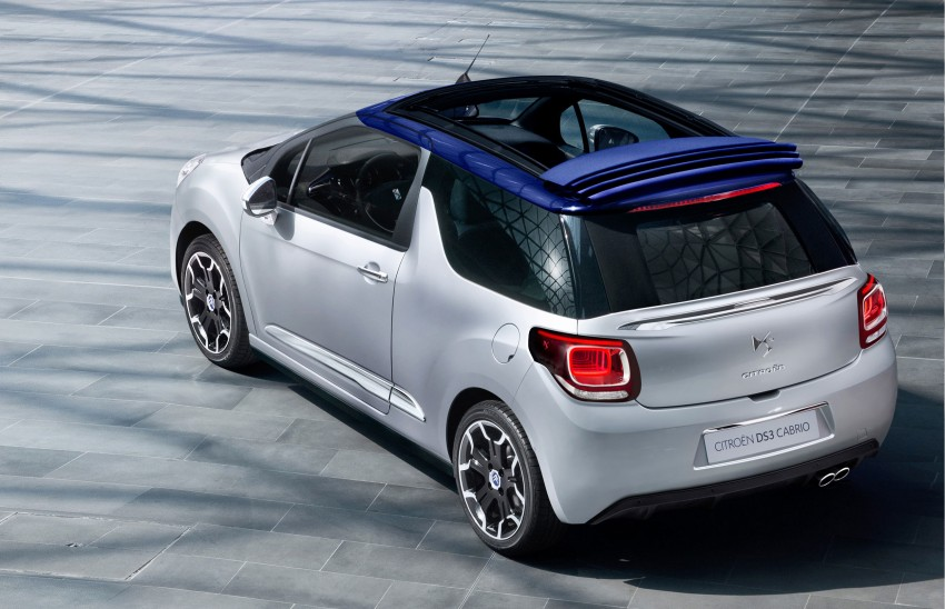 Citroën DS3 Cabrio – first pictures and details revealed ahead of Paris Motor Show 2012 Image #128223