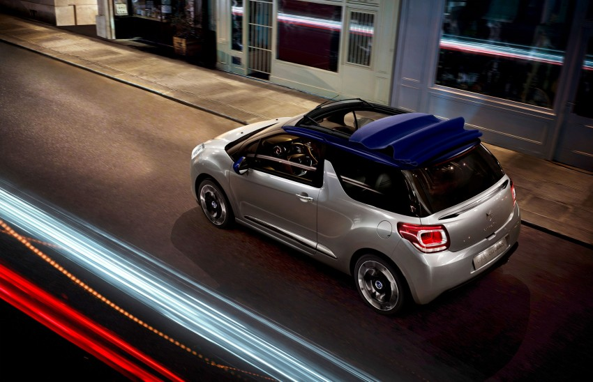 Citroën DS3 Cabrio – first pictures and details revealed ahead of Paris Motor Show 2012 Image #128227