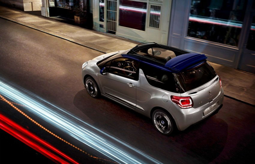 Citroën DS3 Cabrio – first pictures and details revealed ahead of Paris Motor Show 2012 Image #128228