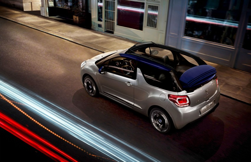 Citroën DS3 Cabrio – first pictures and details revealed ahead of Paris Motor Show 2012 Image #128229