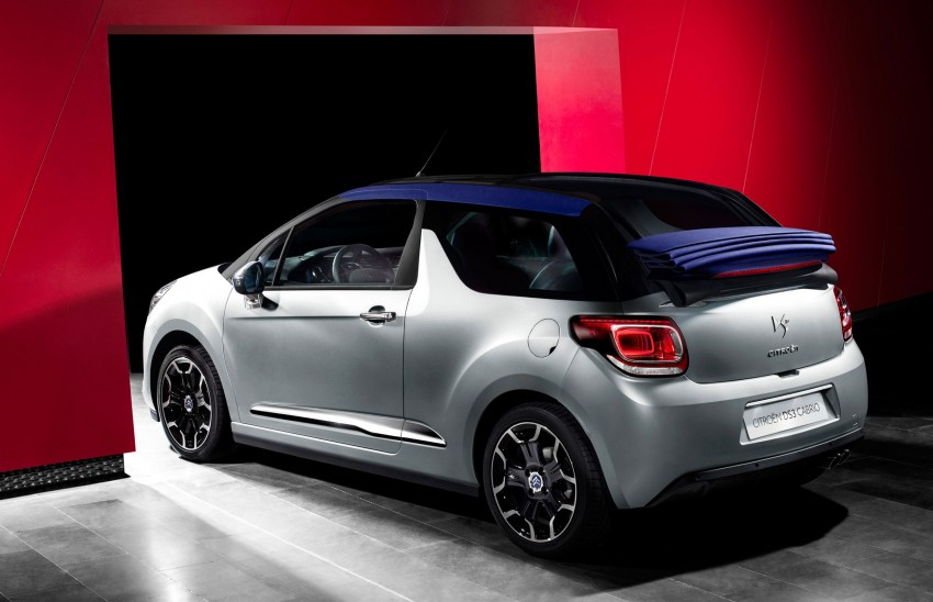 Citroën DS3 Cabrio – first pictures and details revealed ahead of Paris Motor Show 2012 Image #128230