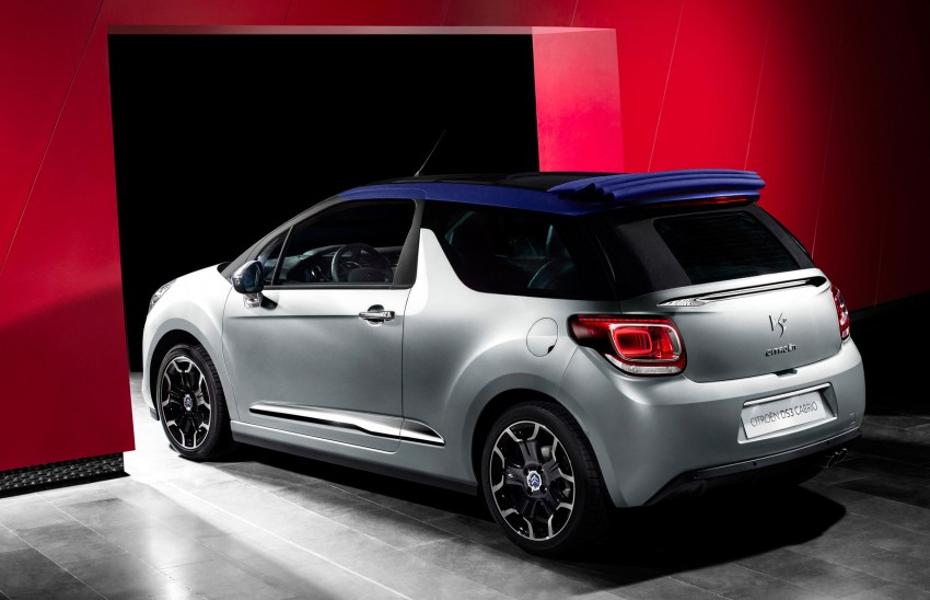 Citroën DS3 Cabrio – first pictures and details revealed ahead of Paris Motor Show 2012 Image #128231