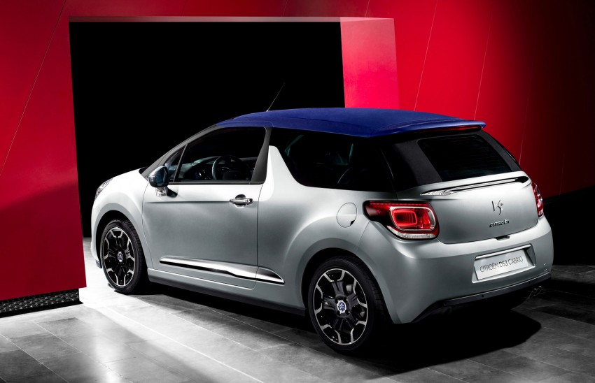 Citroën DS3 Cabrio – first pictures and details revealed ahead of Paris Motor Show 2012 Image #128232