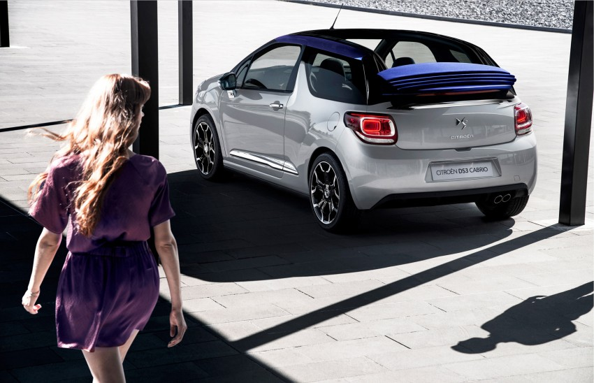 Citroën DS3 Cabrio – first pictures and details revealed ahead of Paris Motor Show 2012 Image #128233