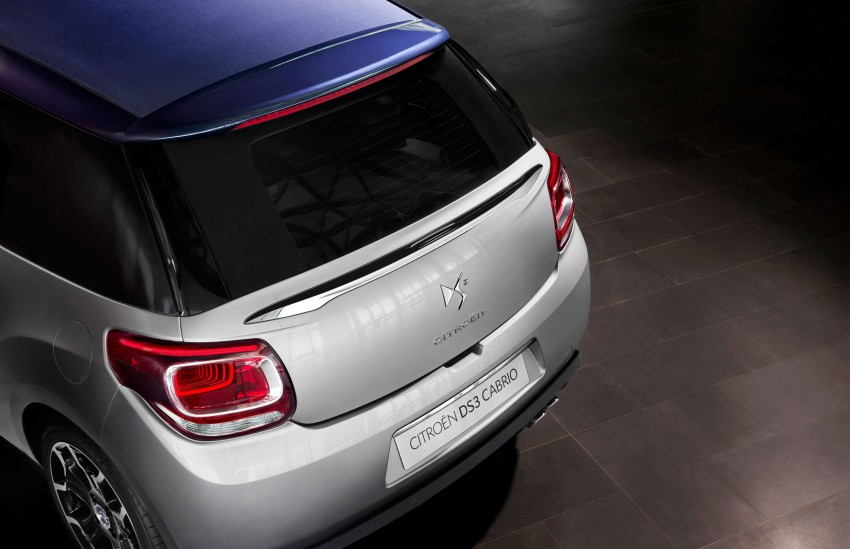 Citroën DS3 Cabrio – first pictures and details revealed ahead of Paris Motor Show 2012 Image #128235