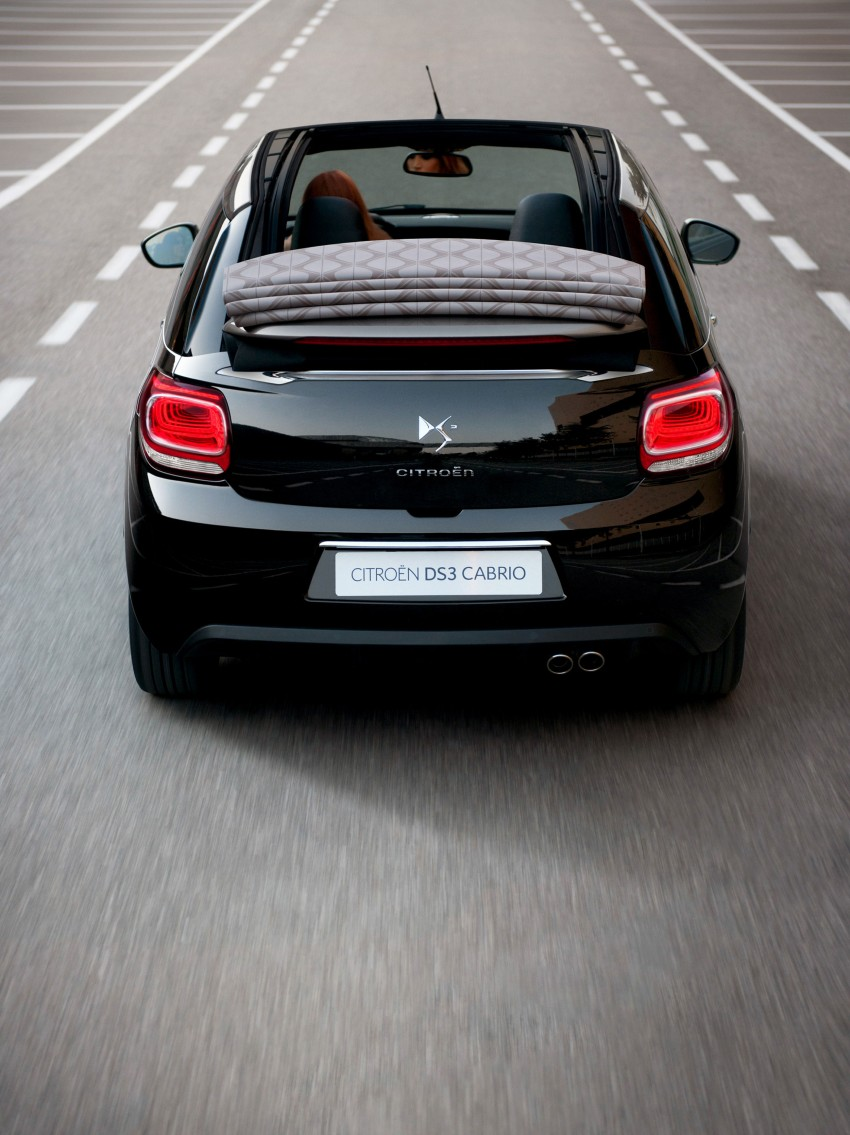 Citroën DS3 Cabrio – first pictures and details revealed ahead of Paris Motor Show 2012 Image #128236