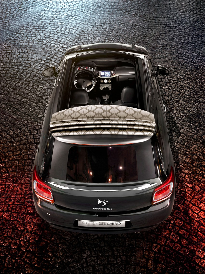 Citroën DS3 Cabrio – first pictures and details revealed ahead of Paris Motor Show 2012 Image #128237