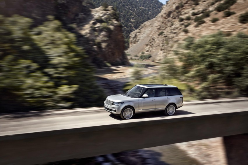 Fourth-generation Range Rover globally launched! Image #129920